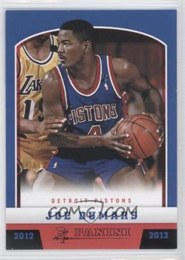 2012-13 Panini Black Knight #188 - Joe Dumars /10