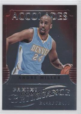 2012-13 Panini Brilliance Accolades #10 - Andre Miller