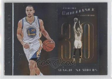2012-13 Panini Brilliance Magic Numbers #14 - Stephen Curry