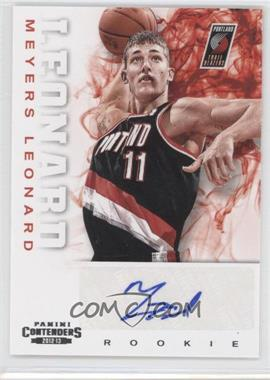 2012-13 Panini Contenders - [Base] #210 - Meyers Leonard