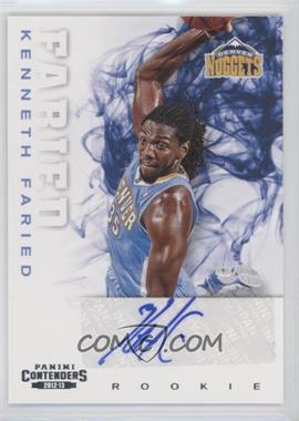 2012-13 Panini Contenders - [Base] #256 - Kenneth Faried