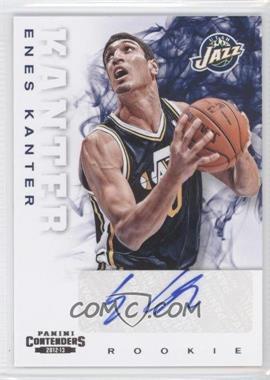2012-13 Panini Contenders - [Base] #261 - Enes Kanter