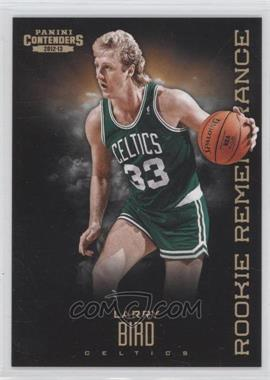 2012-13 Panini Contenders - Rookie Remembrance #26 - Larry Bird