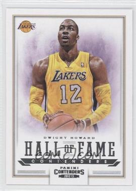 2012-13 Panini Contenders Hall of Fame Contenders #2 - Dwight Howard