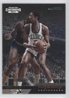 2012-13 Panini Contenders Legendary Contenders #16 - Bill Russell