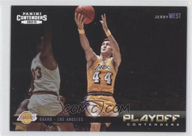 2012-13 Panini Contenders Playoff Contenders #24 - Jerry West