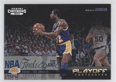2012-13 Panini Contenders Playoff Contenders #8 - Magic Johnson