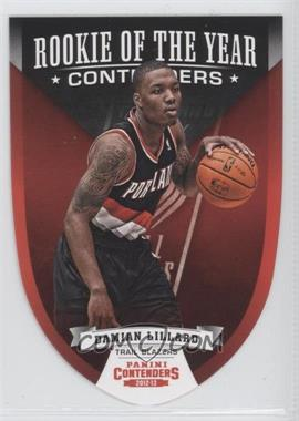 2012-13 Panini Contenders Rookie of the Year Contenders #5 - Damian Lillard
