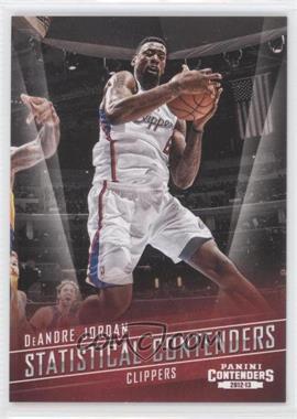 2012-13 Panini Contenders Statistical Contenders #23 - DeAndre Jordan