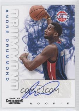 2012-13 Panini Contenders #208 - Andre Drummond