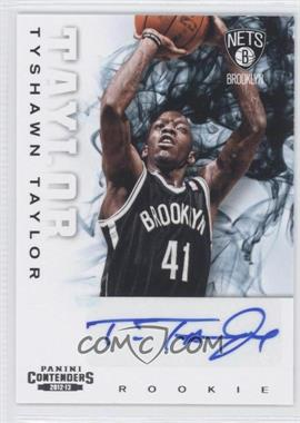2012-13 Panini Contenders #239 - Tyshawn Taylor