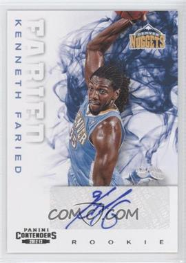 2012-13 Panini Contenders #256 - Kenneth Faried