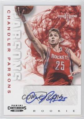 2012-13 Panini Contenders #266 - Chandler Parsons