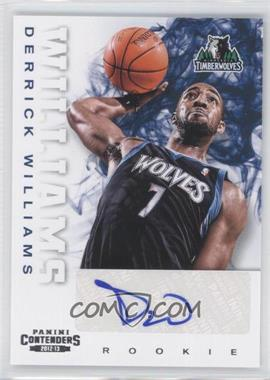 2012-13 Panini Contenders #275 - Derrick Williams