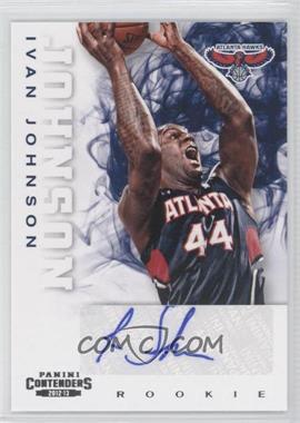 2012-13 Panini Contenders #283 - Ivan Johnson