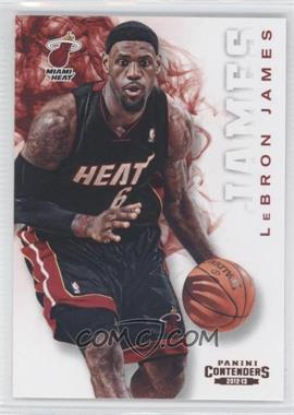 2012-13 Panini Contenders #80 - Lebron James