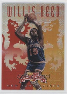 2012-13 Panini Crusade - Crusade - Red #99 - Willis Reed /99