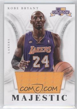 2012-13 Panini Crusade - Majestic - Materials #20 - Kobe Bryant
