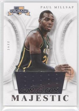 2012-13 Panini Crusade Majestic Materials #29 - Paul Millsap