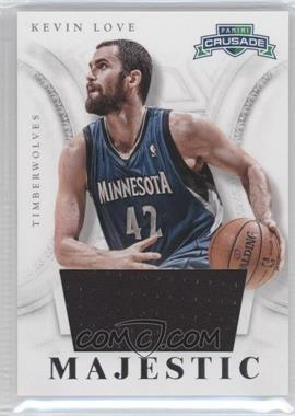 2012-13 Panini Crusade Majestic Materials #93 - Kevin Love