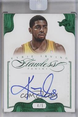 2012-13 Panini Flawless Flawless Signatures Emerald #31 - Kyrie Irving /5