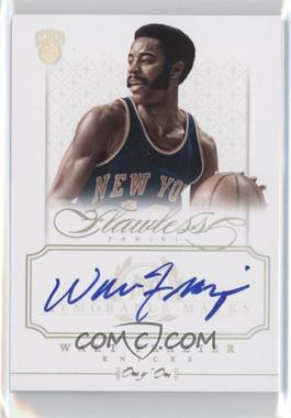 2012-13 Panini Flawless Memorable Marks Platinum #12 - Walt Frazier /1