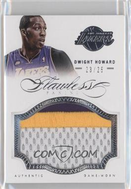2012-13 Panini Flawless Patches #46 - Dwight Howard /25