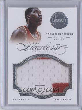 2012-13 Panini Flawless Patches #67 - Hakeem Olajuwon /25