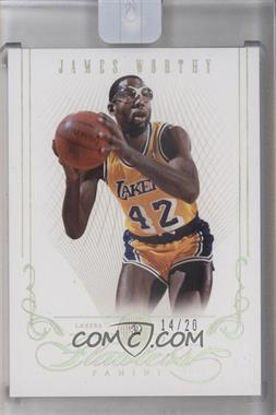 2012-13 Panini Flawless #63 - James Worthy /20