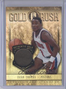 2012-13 Panini Gold Standard Gold Rush 14k Gold #66 - Isiah Thomas /25