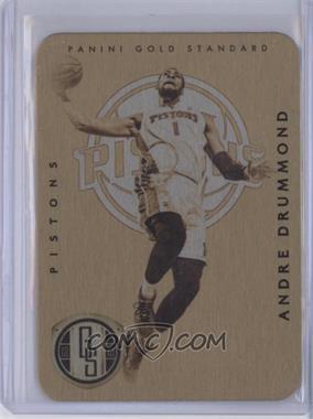 2012-13 Panini Gold Standard Metal Metal Gold #69 - Andre Drummond