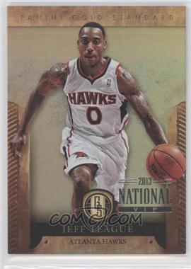 2012-13 Panini Gold Standard National Convention #97 - Jeff Teague /5