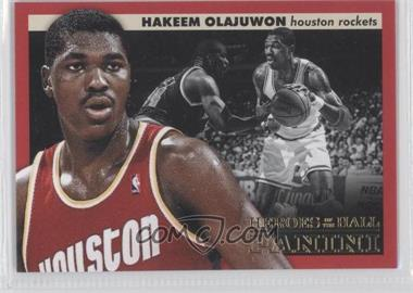 2012-13 Panini Heroes of the Hall #1 - Hakeem Olajuwon