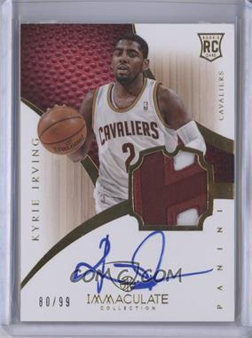 2012-13 Panini Immaculate Collection - [Base] #101 - Kyrie Irving /99