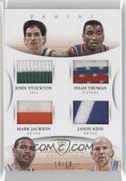 John Stockton, Mark Jackson, Isiah Thomas, Jason Kidd /10