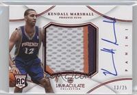 Kendall Marshall /25