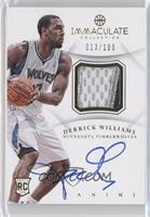 Derrick Williams /100