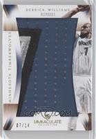 Derrick Williams /14