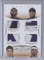 DeMarcus Cousins, Isaiah Thomas, Tyreke Evans, Jimmer Fredette /10