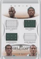 Avery Bradley, Kevin Garnett, Paul Pierce, Rajon Rondo /50