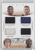 Chris Mullin, Larry Bird, Scottie Pippen, Clyde Drexler /50