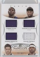 Isaiah Thomas, Jimmer Fredette, DeMarcus Cousins, Tyreke Evans /50