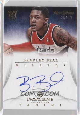2012-13 Panini Immaculate Collection Inscriptions #IN-BB - Bradley Beal /99