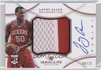 Lavoy Allen /25