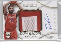 Royce White /75