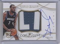 Derrick Williams #55/75