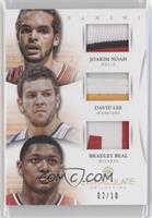 Joakim Noah, Bradley Beal, David Lee /10