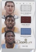 Kenneth Faried, Klay Thompson, Kyrie Irving /99