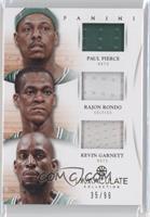 Kevin Garnett, Paul Pierce, Rajon Rondo /99