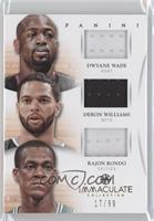 Deron Williams, Dwyane Wade, Rajon Rondo /99
